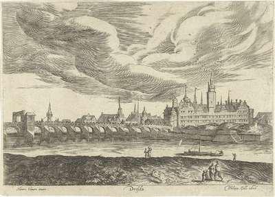 Gezicht op Dresden; Dresda; Ruinarum varii prospectus