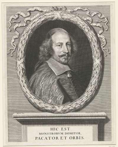 Portret van Jules Mazarin