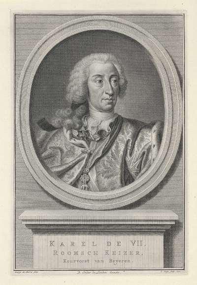 Portret van Duits keizer Karel VII Albert