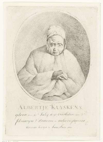 Portret van Albertje Kuyskens