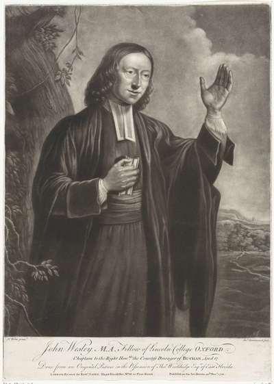 Portret van John Wesley