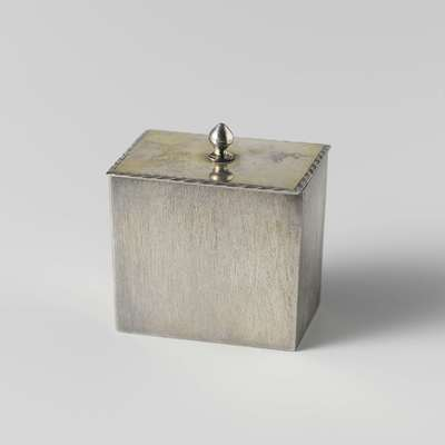 Image from object titled Two tea caddies and a mixing caddy