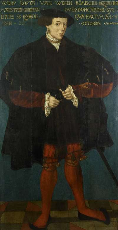 Image from object titled Portrait of Worp van Ropta, Chief Magistrate of East Dongeradeel