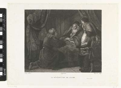 Isaak zegent Jakob; La bénédiction de Jacob
