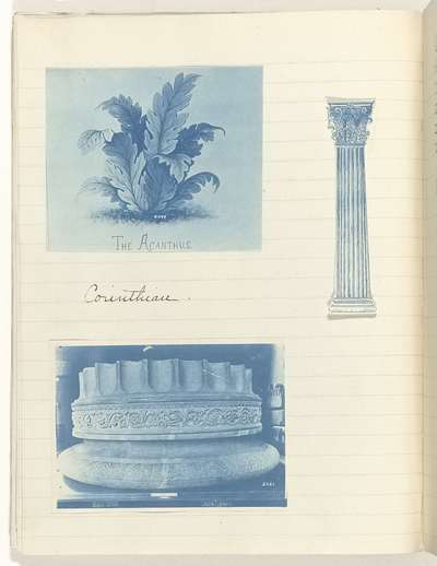 Fotoalbum 'Art History Notes, 1901' van Florence B. Jubles