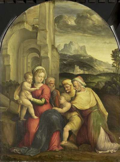 Image from object titled The Holy Family