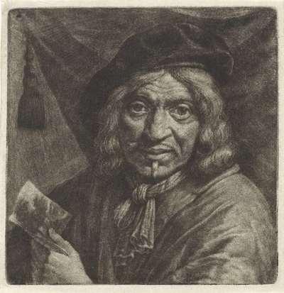 Zelfportret van Pieter Jansz. van Asch