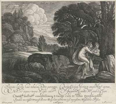 Salmacis en Hermaphroditus