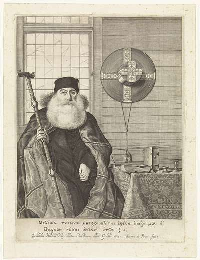 Portret van Meletius Tapeinos
