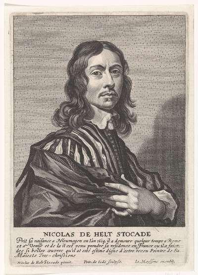 Portret van Nicolaes van Helt Stocade