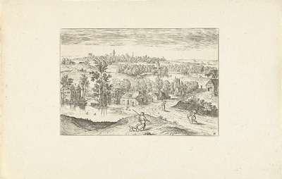 Landschap met een vijver; Landschappen rond Antwerpen