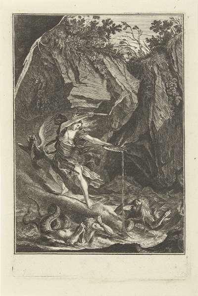 Glaucus en Scylla