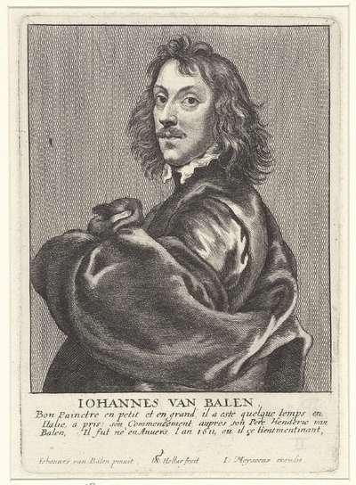 Portret van Jan van Balen; Portretten van kunstenaars; Image de divers hommes desprit sublime