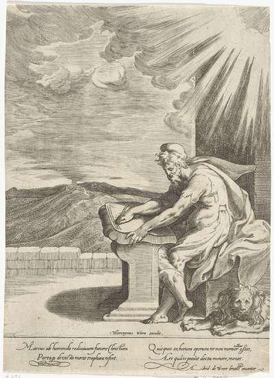 Marcus en de leeuw; Vier evangelisten