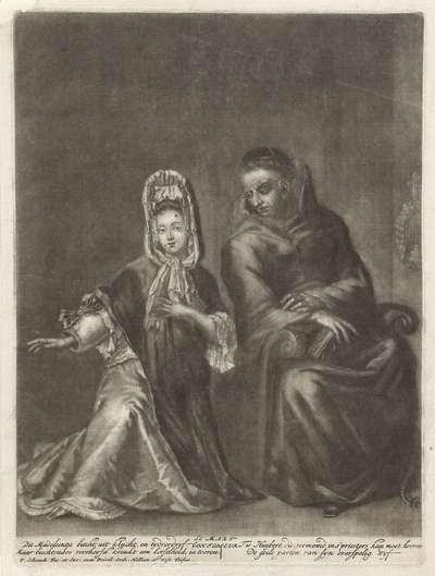 Biechtende jonge vrouw; Le Mari-Confesseur