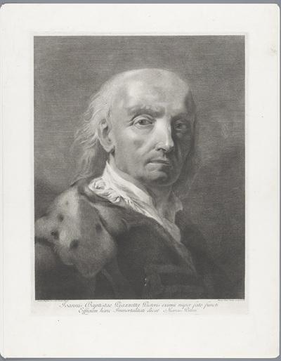 Portret van kunstenaar Giovanni Battista Piazzetta