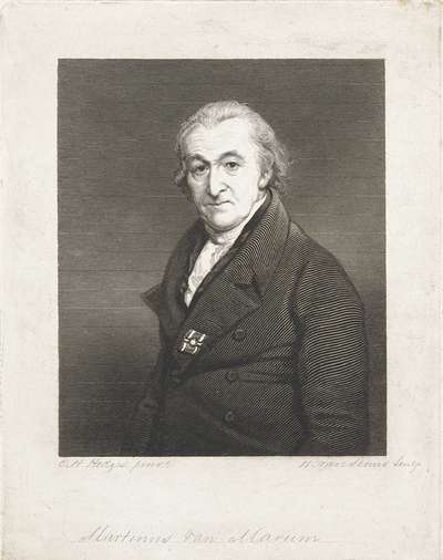Portret van Martinus van Marum