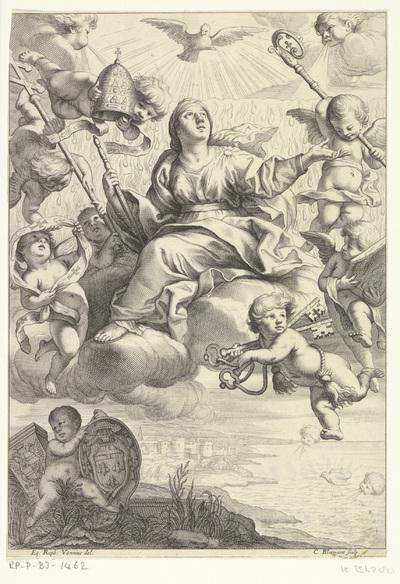 Allegorie met de heilige Geest