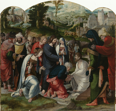 Image from object titled The Raising of Lazarus