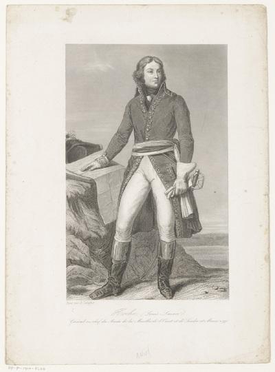 Portret van Louis Lazare Hoche; Hoche (Louis-Lazare) (...)