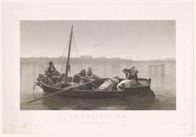 """""""Le prisonnier"""", naar J.L. Gérôme"""