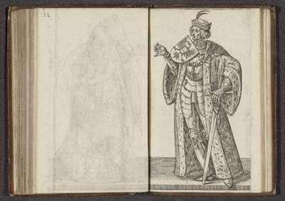 Maximiliaan I van Habsburg; Affkomst ende korte historie der graven van Hollandt Zeelandt ende Vrieslandt; Graven en gravinnen van Holland