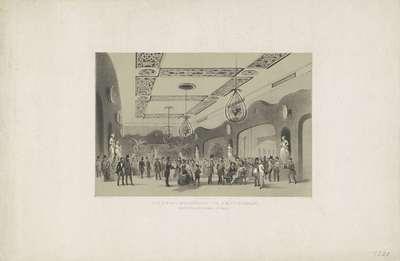 De zaal Frascati te Amsterdam, gedurende de kermis van 1854