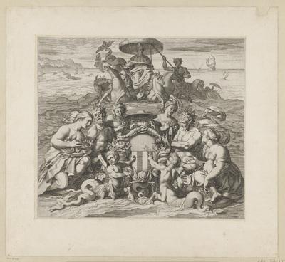Maritieme allegorie op doge Antonio Priuli