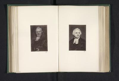Fotoreproductie van een schilderij, voorstellende een portret van William Taylor