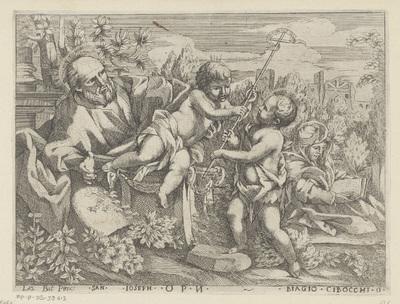 Heilige Familie met de jonge Johannes de Doper