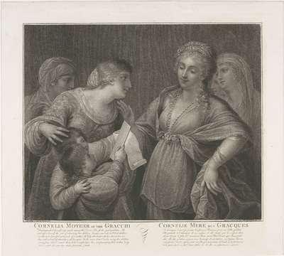 Cornelia moeder der Gracchen; Cornelia Mother of the Gracchi / Cornelie Mere des Gracques