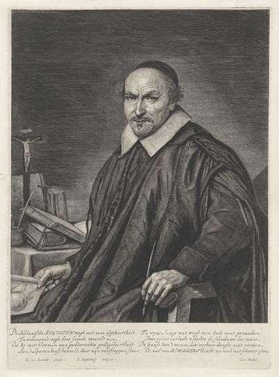 Portret van Augustyn Alsten Bloemaert