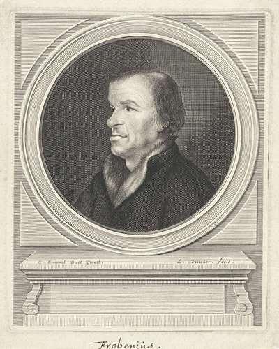 Portret van Johann Froben