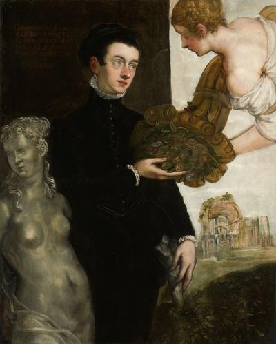 Image from object titled Portrait of Ottavio Strada