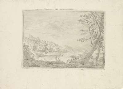 Landschap bij Rome; Varie Vedute