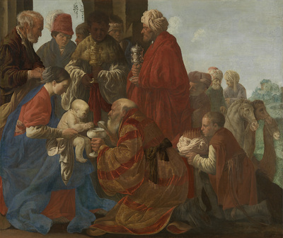 Image from object titled The Adoration of the Kings