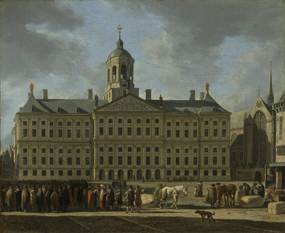 Image from object titled The Town Hall on Dam Square, Amsterdam