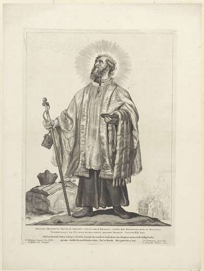 H. Odulphus van Brabant; Nederlandse heiligen