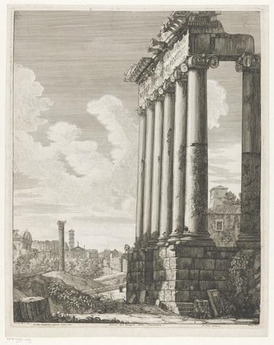 Tempel van Concordia te Rome; Avanzi del Tempio della Concordia