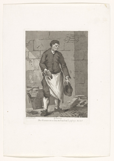 De stratenmaker; Le Paveur; Divers Portraits
