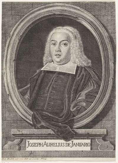 Portret van Giuseppe Aurelio di Gennaro