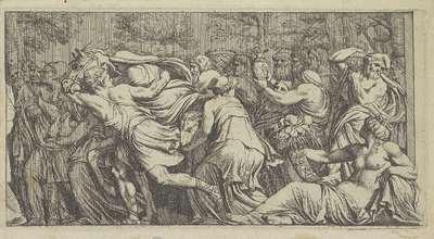 Processie van smekelingen; Het leven van Niobe (kopieën)