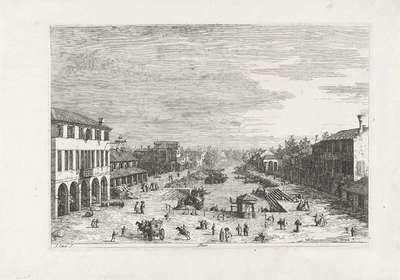 Mestre; Gezichten op bestaande en verzonnen plaatsen; Vedute altre prese da i Luoghi altre ideate da Antonio Canal