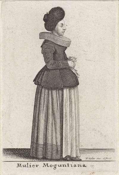 Mulier Moguntiana; Theatrum Mulierum; Europese vrouwen in klederdracht