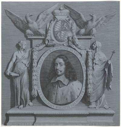 Portret van Maximiliaan Hendrik van Beieren, aartsbisschop van Keulen