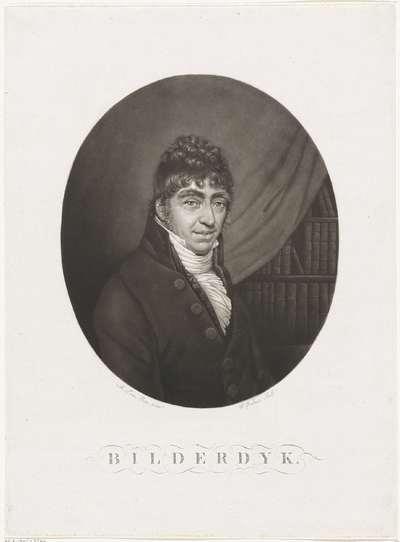 Portret van Willem Bilderdijk