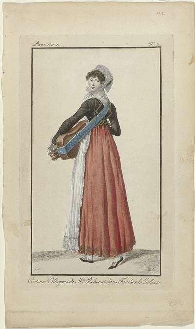 Costume Villageois de Mme Belmont dans Fanchon la Vielleuse, An 11, No. 2