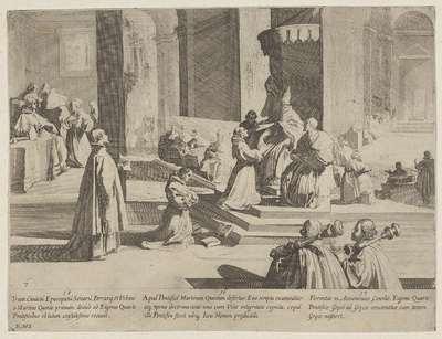 Drie episoden uit het leven van de heilige Bernardinus van Siena; Het leven van de heilige Bernardus van Siena