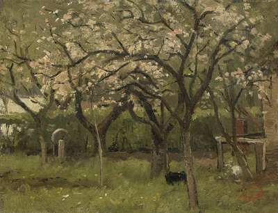 Image from object titled Blossoming Tree in an Orchard
