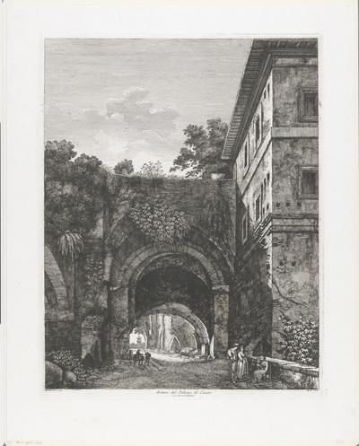 Palazzo dei Cesari te Rome; Avanzi del Palazzo dè Cesari sul Monte Palatino